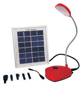 Solarland LED Desk Lamp (Red)