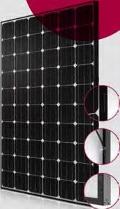 LG 265S1C-A3 Black Mono Solar Panel