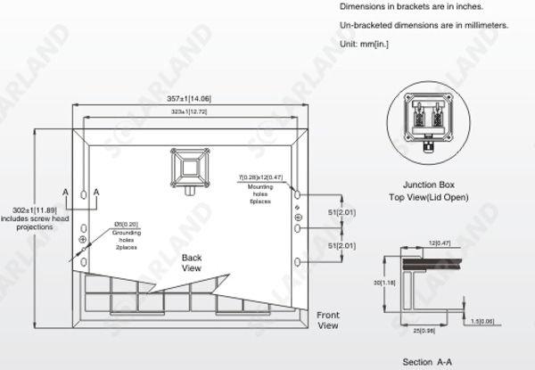 SLP010-12 Dimensions