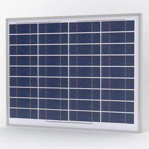 Solarland SLP045-12U Silver Poly Solar Panel