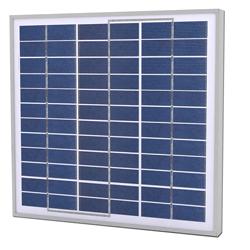 Solarland SLP030-12U Silver Poly Solar Panel