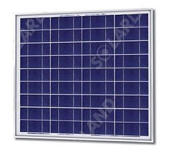 Solarland SLP055-12U Silver Poly Solar Panel