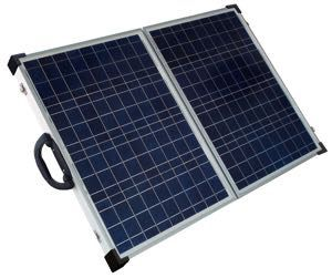 Solarland SLP090F-12S Silver Poly 90 W Foldable Solar Charging Kit