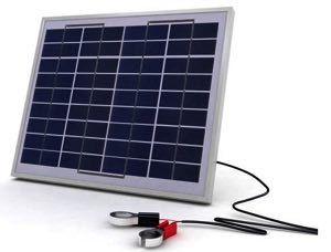 Solarland SLCK-010-12 10W 12V Portable Solar Charging Kit