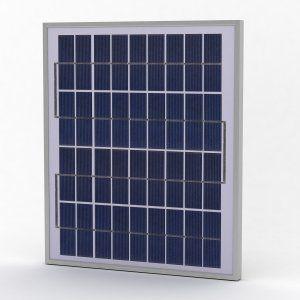 Solarland SLP015-12U Silver Poly Solar Panel