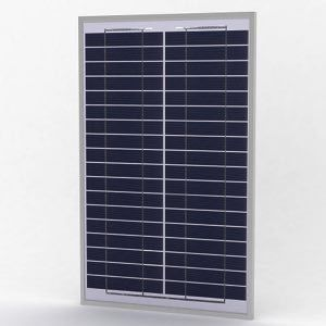 Solarland SLP020-24U Silver Poly Solar Panel