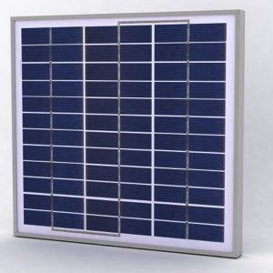 Solarland SLP030-24U Silver Poly Solar Panel