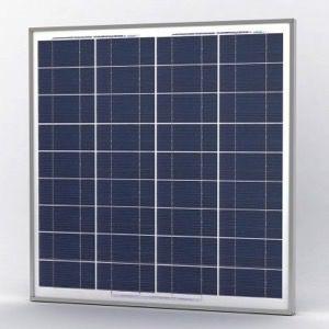 Solarland SLP070-12M Silver Poly Solar Panel