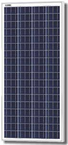 Solarland SLP140-24 C1D2 Silver Poly Solar Panel