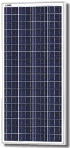 Solarland SLP140-12 Silver Poly Solar Panel