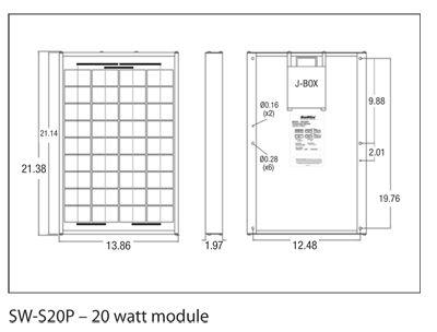 Sunwize 20-Watt Module