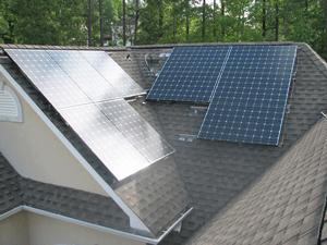 off-grid customer installation