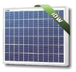 Solarland SLP010-12U Silver Poly Solar Panel