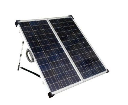 SLP130F-12S Portable Folding Solar Panel Kit