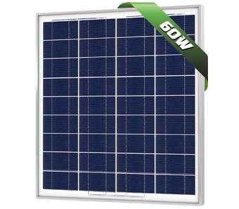 Solarland SLP060-12 Silver Poly Solar Panel