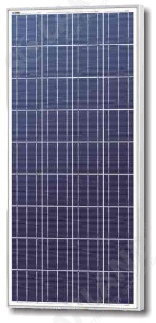 Solarland SLP150-12 Silver Poly Solar Panel