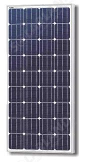 Solarland SLP160S-12 Silver Mono Solar Panel