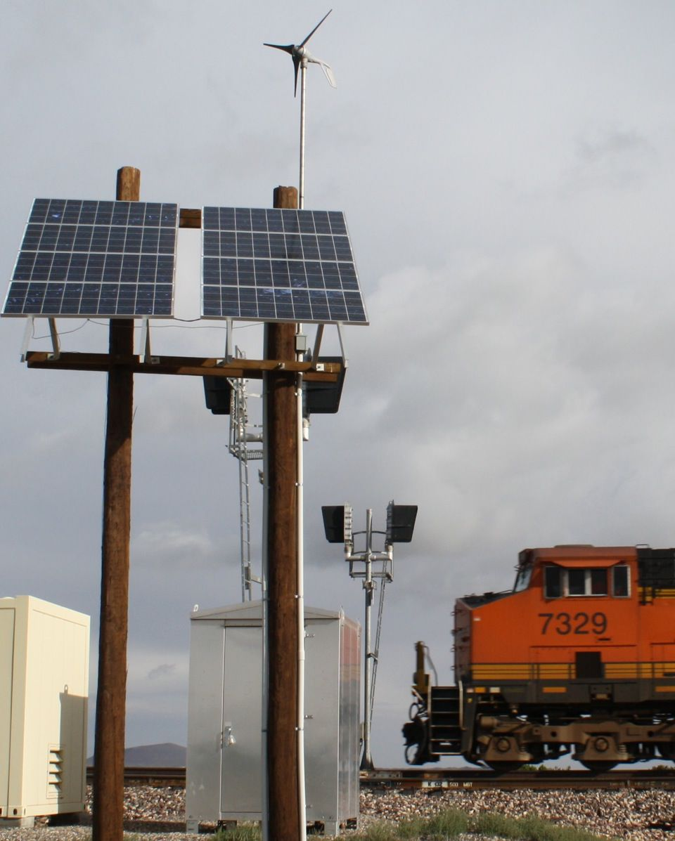 railroad remote power system