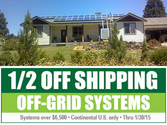 Off grid Shipping Sale