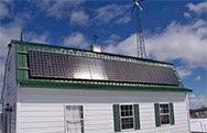Off grid medium size house