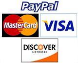 we accecpt all major credit cards and also paypal