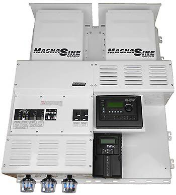 Four Star Solar MS4448PAE Dual Magnum w/ Classic 150 Power Center