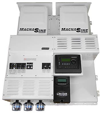Four Star Solar Magnum Dual MS4024PAE w/ FM80 Power Center