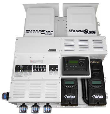 Four Star Solar Magnum Dual MS4024PAE w/ 2 FM80's Power Center