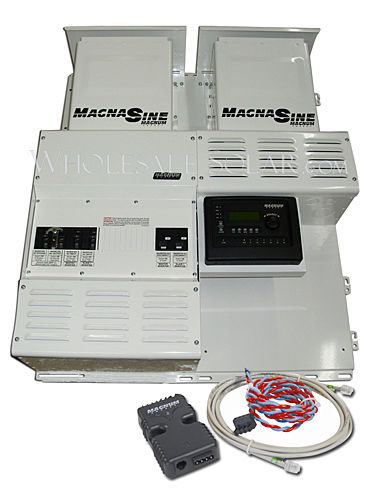 Four Star Solar MS4448PAE Dual Magnum w/ 2 Classic 250's Power Center