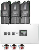 Pre-wired Four Star Solar Charge Controller Unit