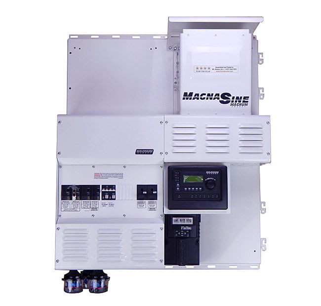 Four Star Solar Expandable Dual Magnum MS4448PAE w/ Classic 150 Power Center
