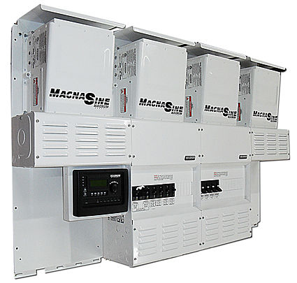 Four Star Solar Magnum Quad MS4448 w/ PT-100 Power Center