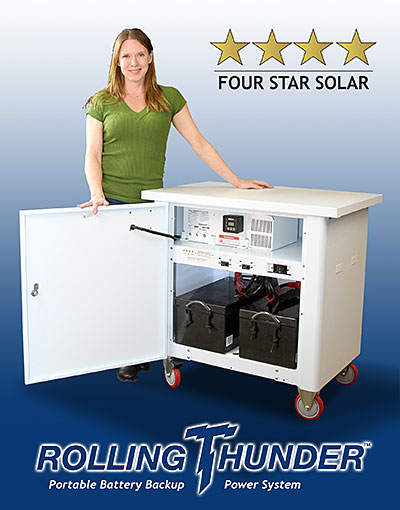 rolling thunder backup power systems by four star solar