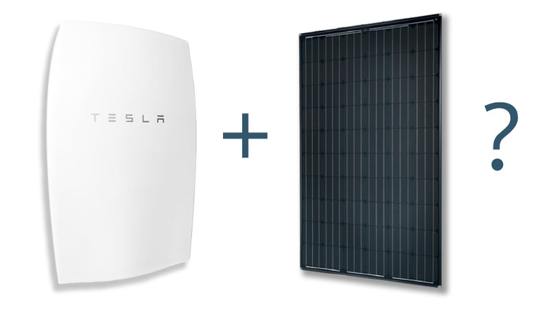 Does the Tesla Powerwall work with solar?