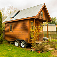 kozy kabin tiny house