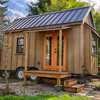 sweat pea tiny house