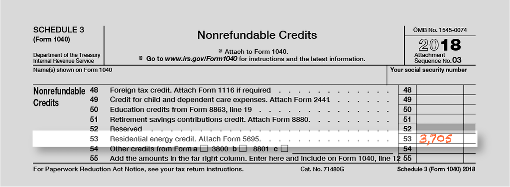 Form 1040 Schedule 3