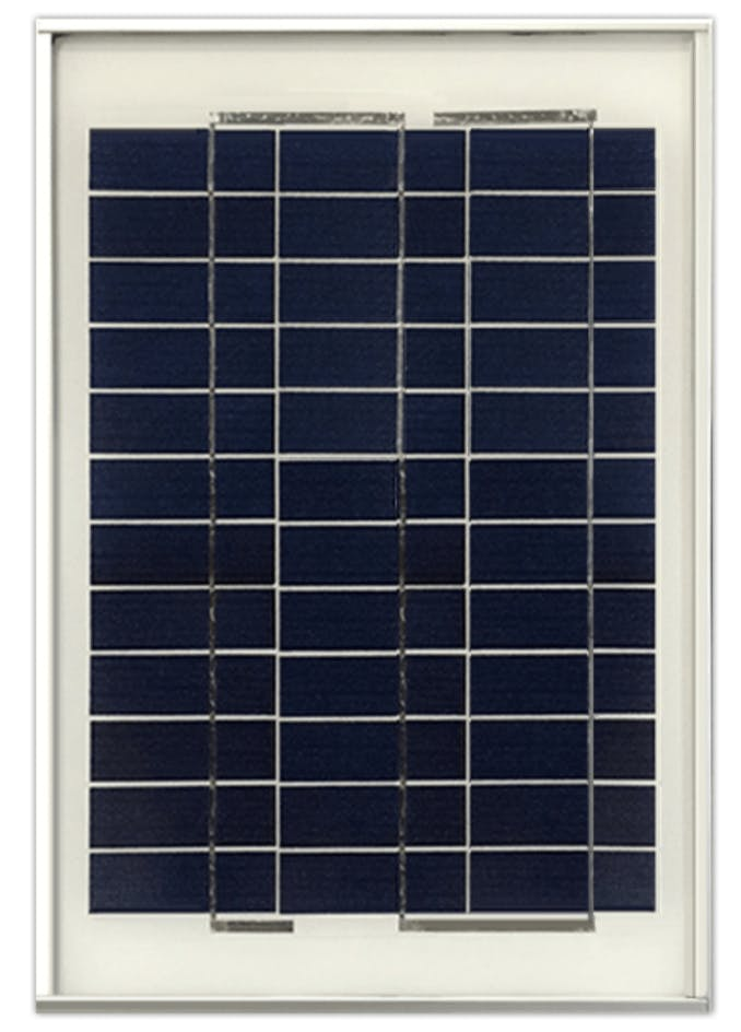 Ameresco BSP10-12 10w Silver Poly Solar Panel