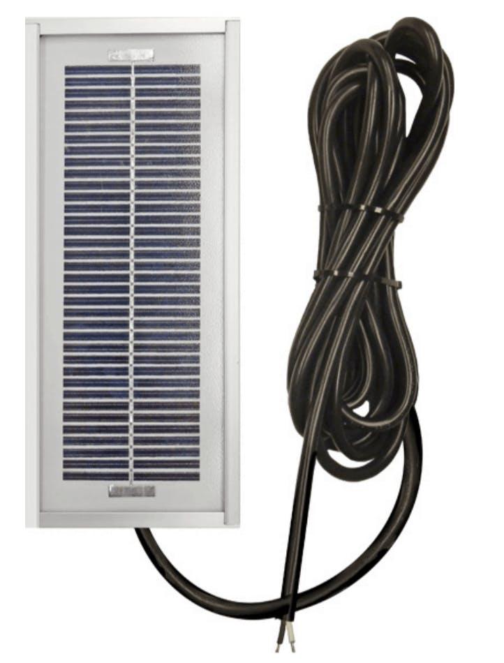 Ameresco BSP1-12 1w Silver Poly 12 Volt Solar Panel