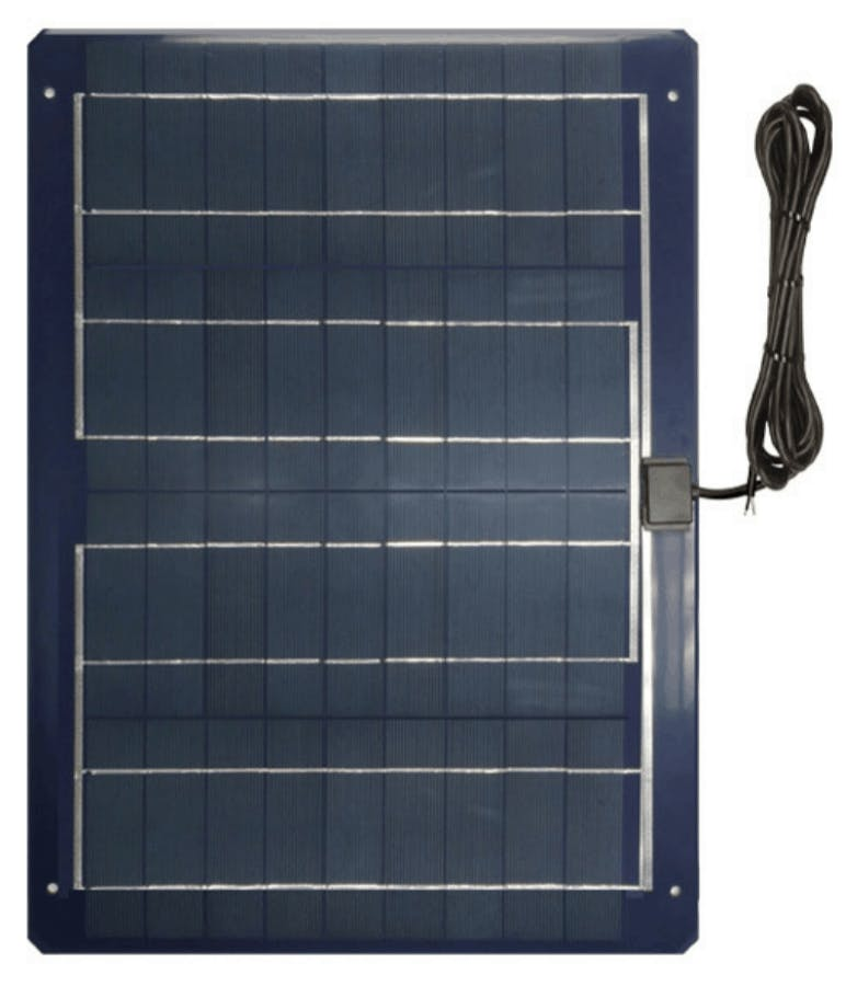 Ameresco BSP30-12LSS 30w Silver Poly Solar Panel