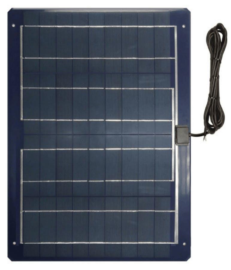 Ameresco BSP30-12LSS 30w Silver Poly 12 Volt Solar Panel