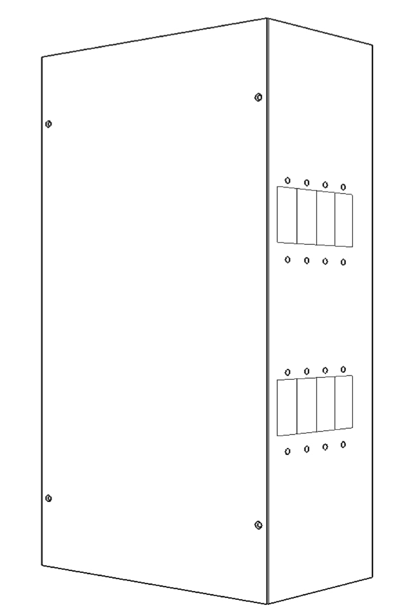 Four Star Solar 4 Star Medium Breaker Box for 8 panel mount breakers