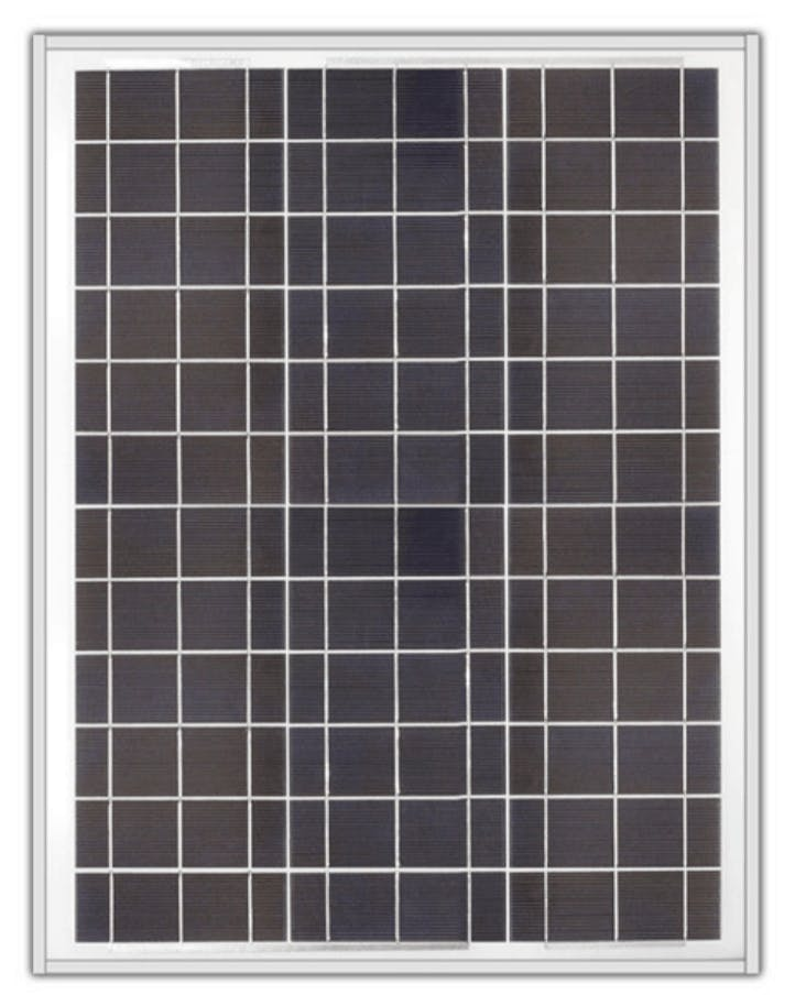 Ameresco BSP40-12 40w Silver Poly Solar Panel