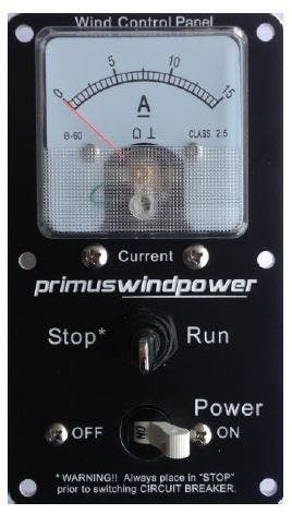 Primus Windpower Wind Control Panel 2-ARAC-104