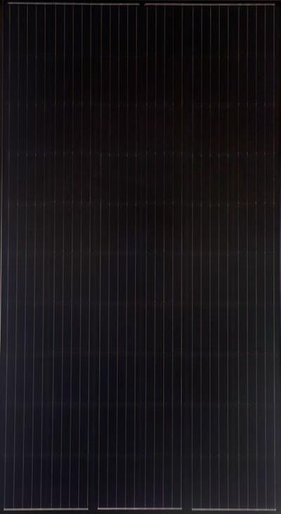 Mission Solar Mission Solar 325W, Black/Black Frame MSE PERC - 40mm Solar Panel 1
