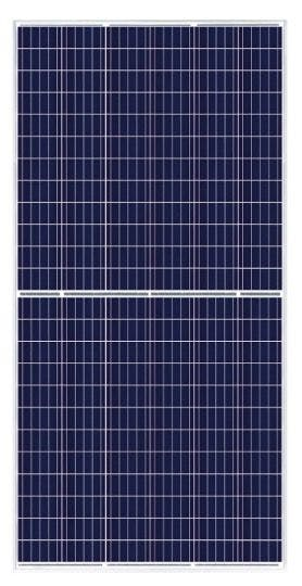 Canadian Solar CS3U-350P Poly Silver Solar Panel
