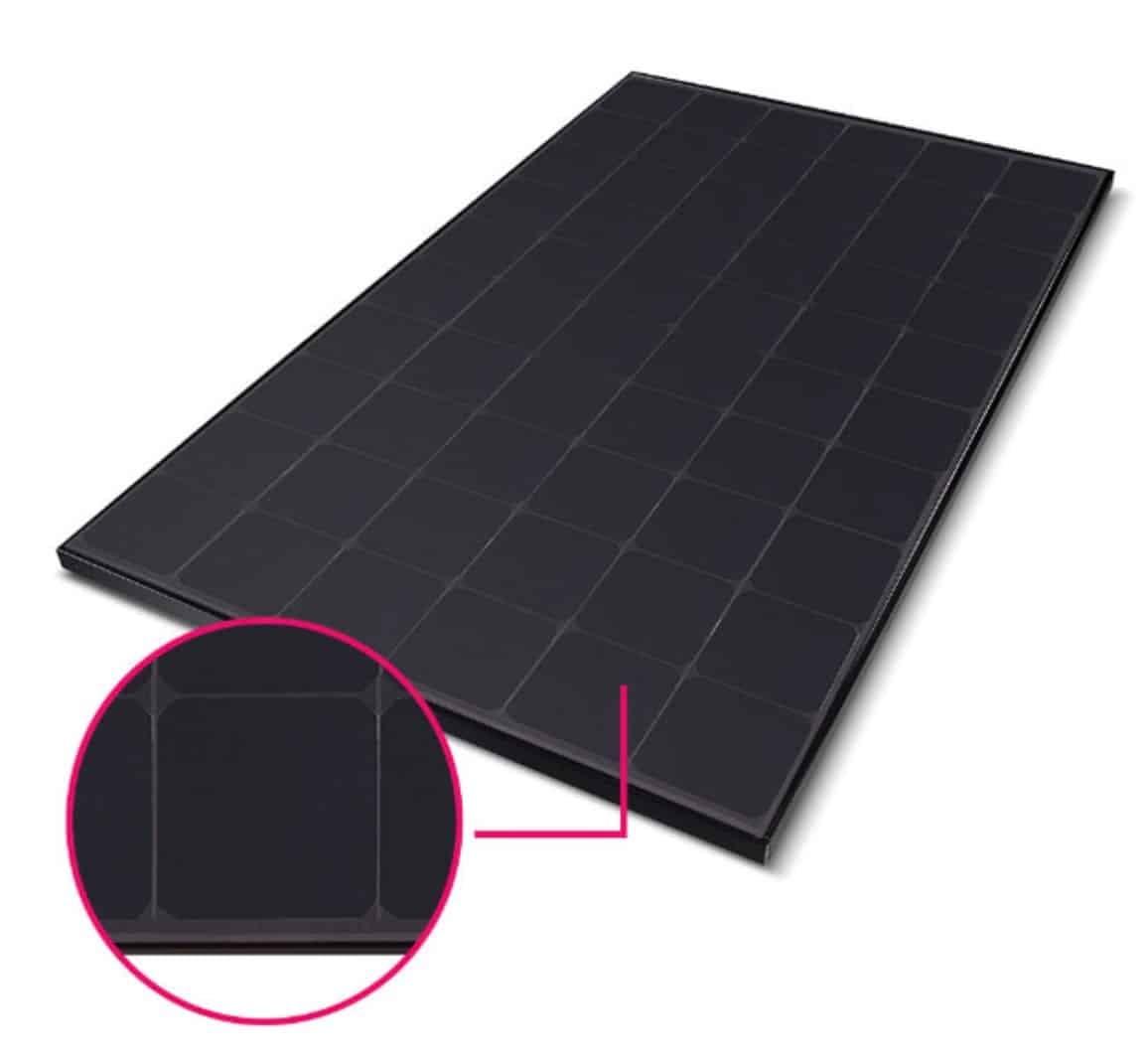 LG NeON R LG-360Q1K-V5 Black/Black Mono Solar Panel