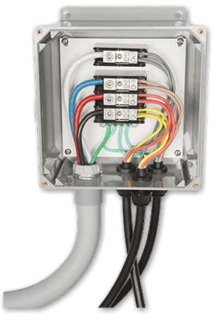 Outback Power ACSPL-40 AC Commercial Combiner Splice Box