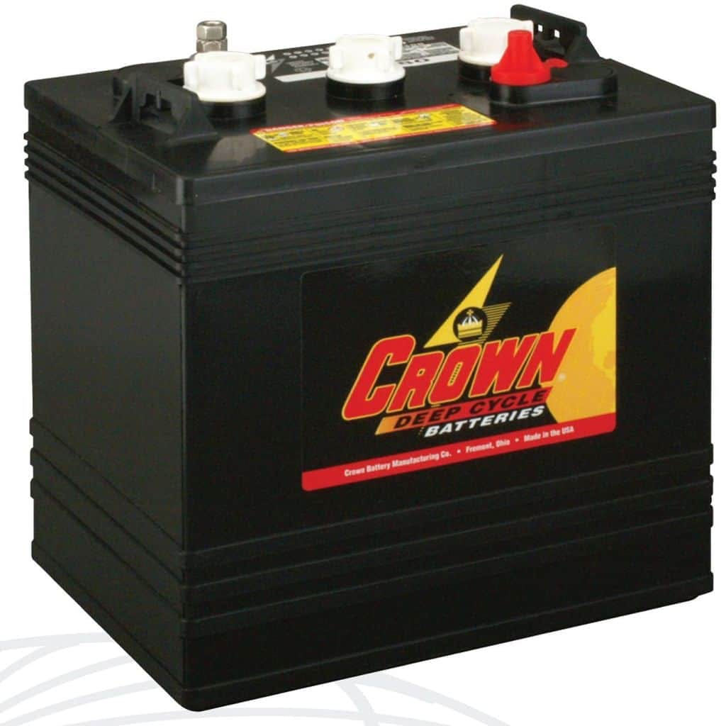 Crown CR220, 6V Flooded Battery