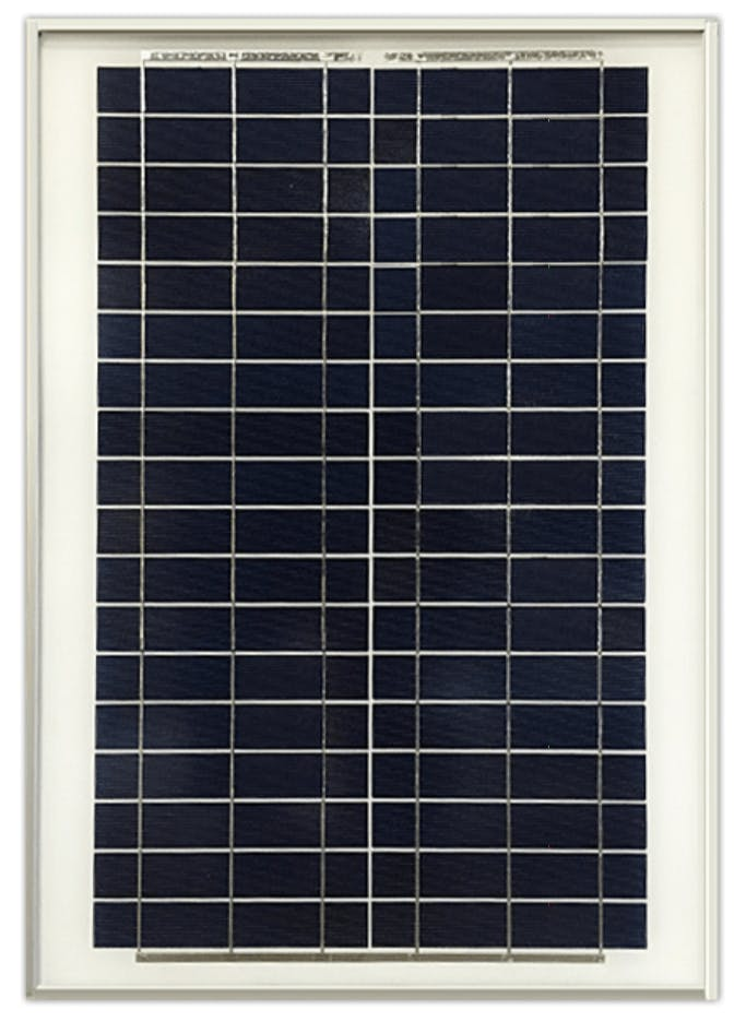 Ameresco BSP20-12 20w Silver Poly Solar Panel